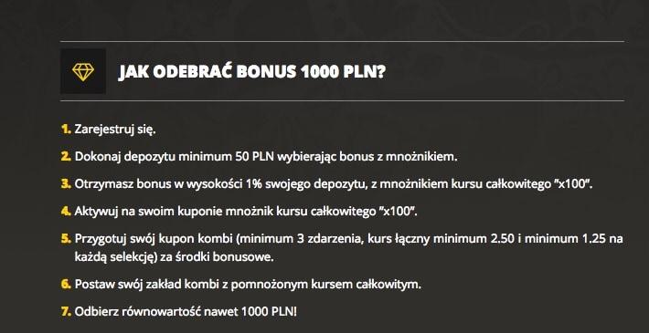 Lvbet bonus powitalny
