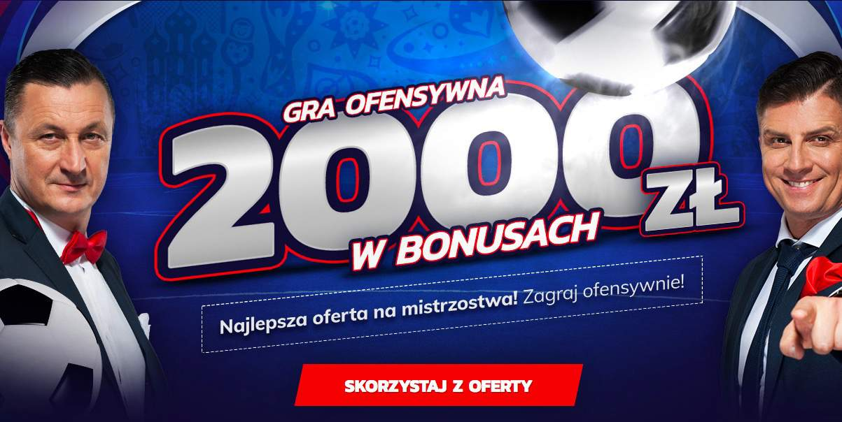2000 PLN na MŚ 2018 od bukmachera eToto!