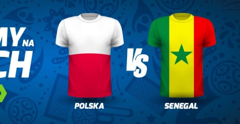 Bonusy na mecz Polski z Senegalem na MŚ 2018!