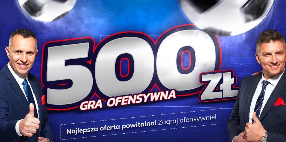 Aktualny bonus powitalny eToto. 500 PLN na start!