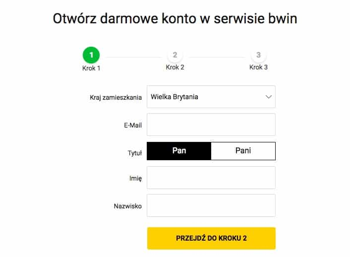 Rejestracja Bwin w Polsce