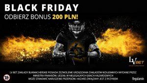 200 PLN na Czarny Piątek w LvBET!