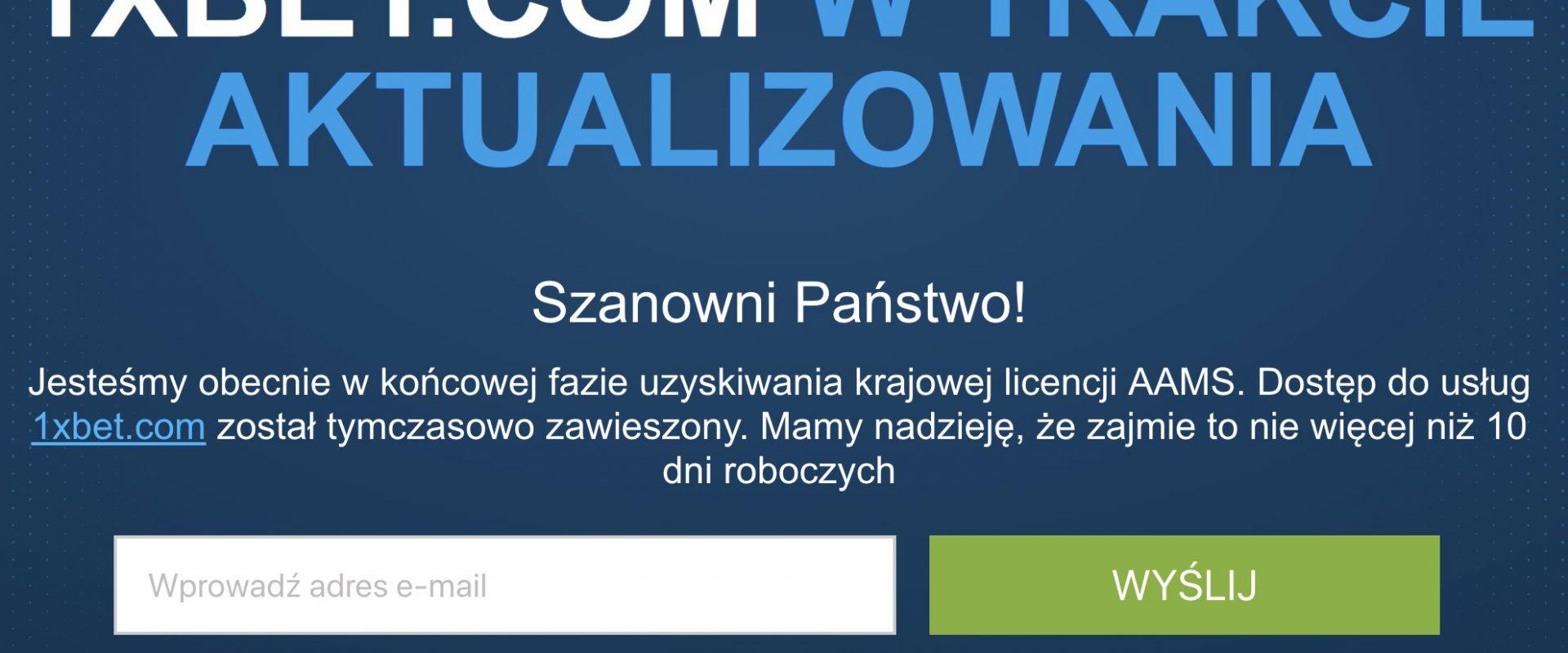 1xBet legalny w Polsce w 2019?