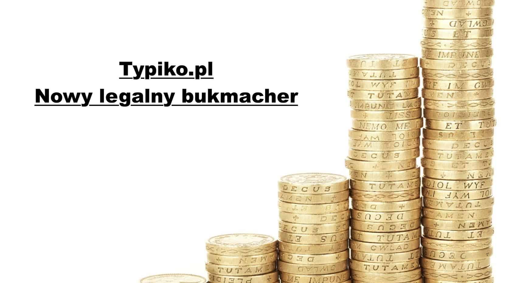 Legalny bukmacher Typiko