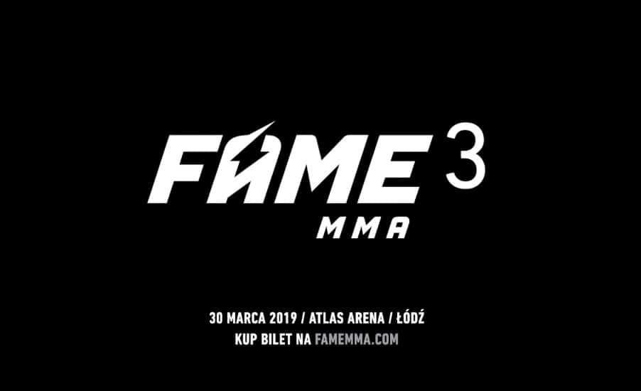 FAME MMA 3. Kto wystąpi, gdzie oglądać? [Typy bukmacherskie]