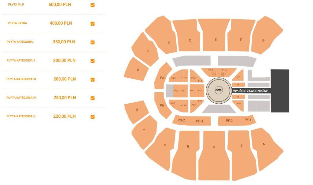Bilety na FAME MMA 3