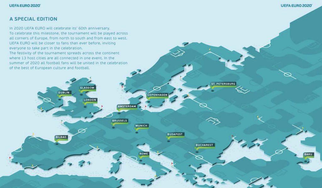 euro 2020 miasta