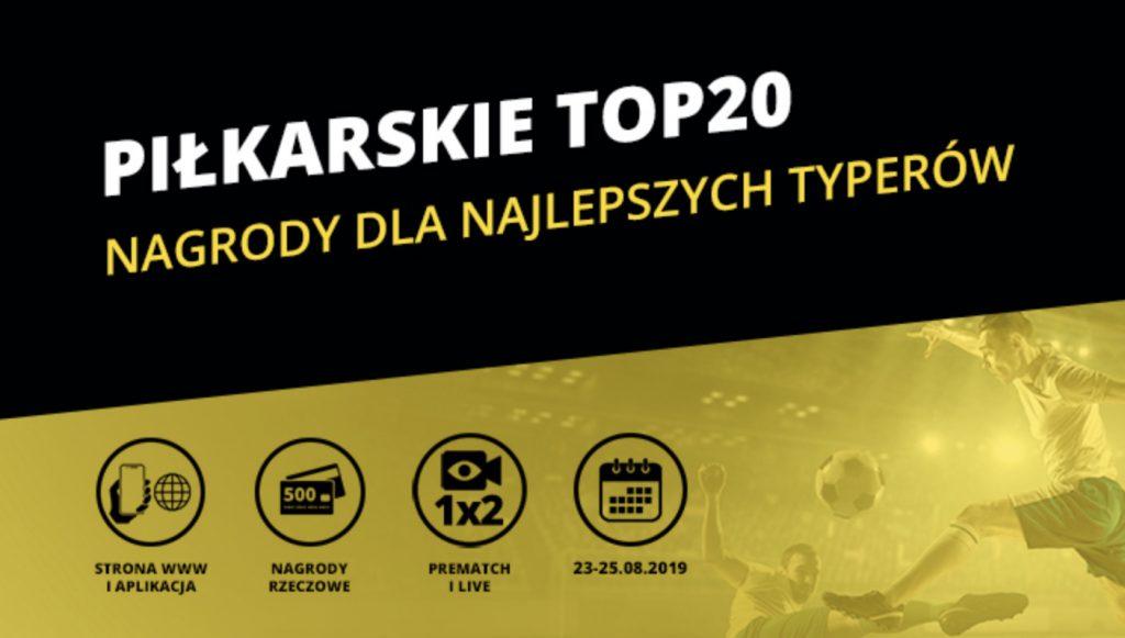 Piłkarskie TOP 20 w weekend. Fortuna rozdaje nagrody!