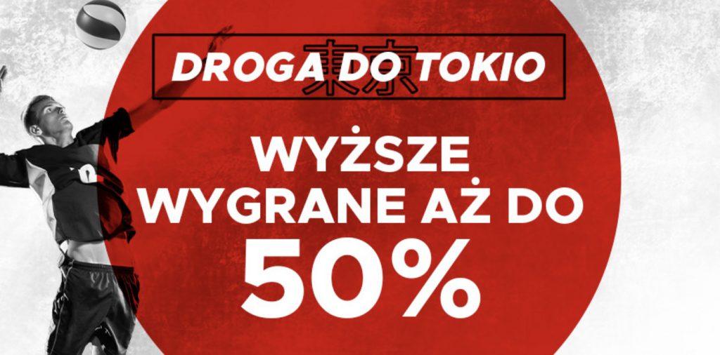 Siatkarskie wygrane większe o 50% w Betclic Polska!