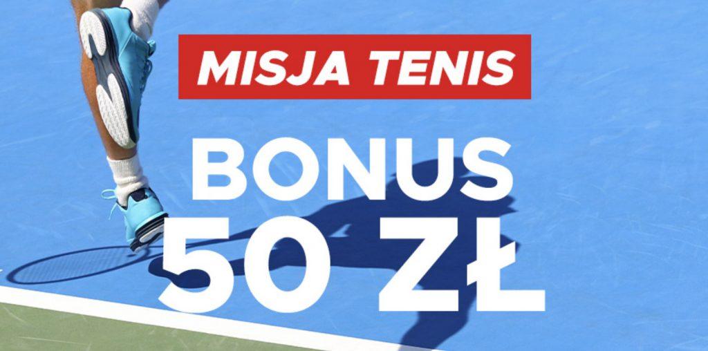 Misja Tenis w Betclic, czyli 50 PLN na US Open