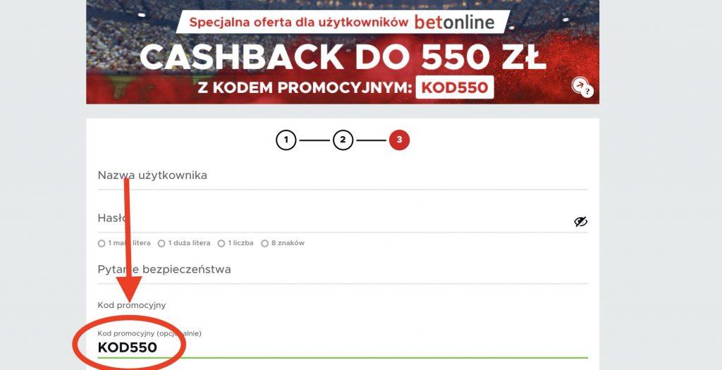 """Nowy bonus powitalny Betclic. Teraz aż 550 PLN na start z kodem promocyjnym """"KOD550""""!"""