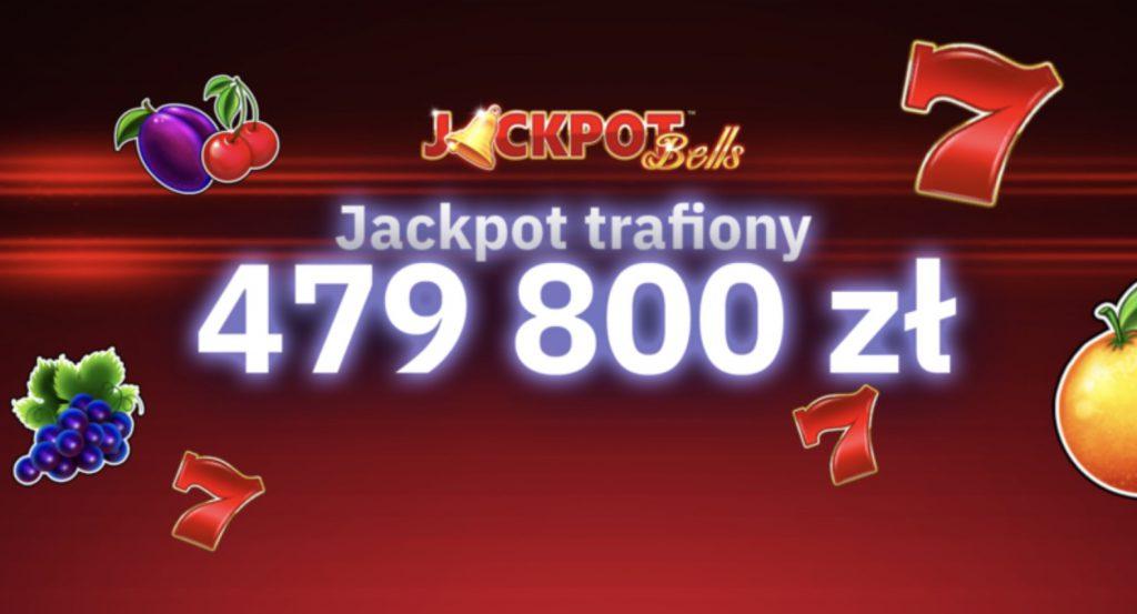 Prawie pół miliona w Jackpot Bells w Total Casino!