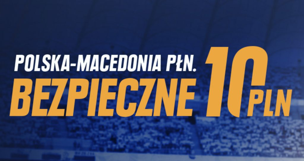 10 PLN na mecz Polski z Macedonią. Bukmacher STS rozdaje kasę!