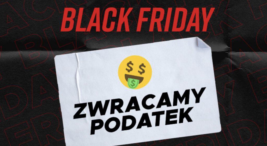 Black Friday w Betclic Polska. Zwrot podatku do 100 PLN dla każdego!