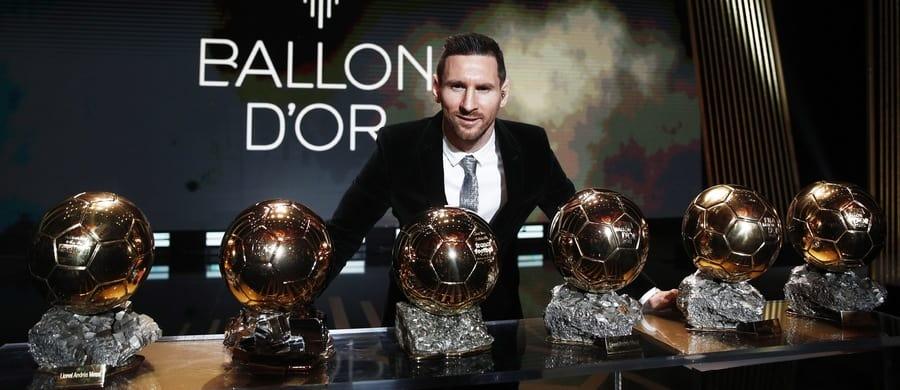 złota piłka messi 2019