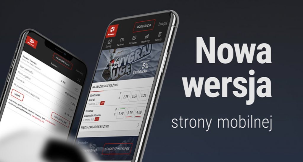 Milenium strona mobilna. Granie na telefonie dla każdego - bez aplikacji!
